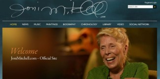 joni mitchell not in coma