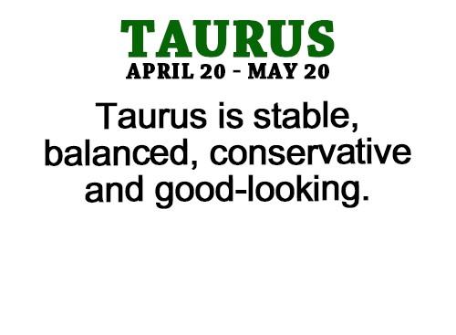taurus looks