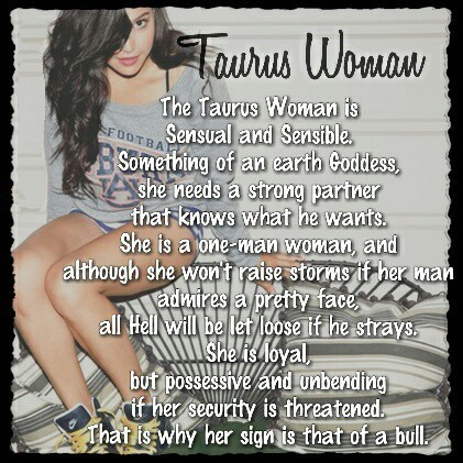 Things to know when dating a taurus