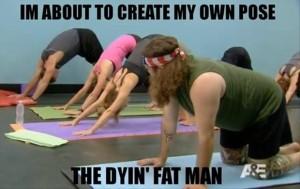 yoga tummy