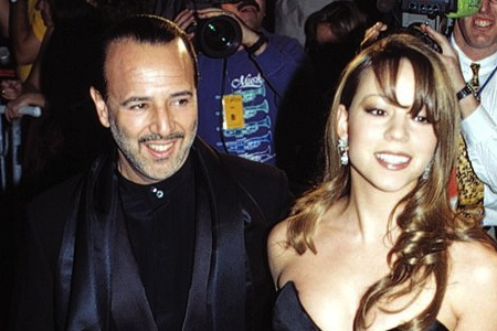 Mariah Carey and Tommy Mottola at the 14th Annual CFDA Awards Salute a Year of Glamour in NYC. January 30, 1995. © John Spellman / Retna Ltd.