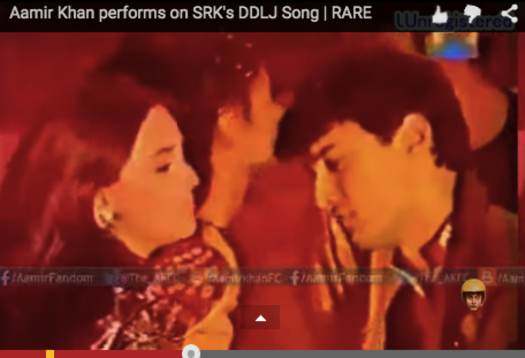 aamir khan dancing