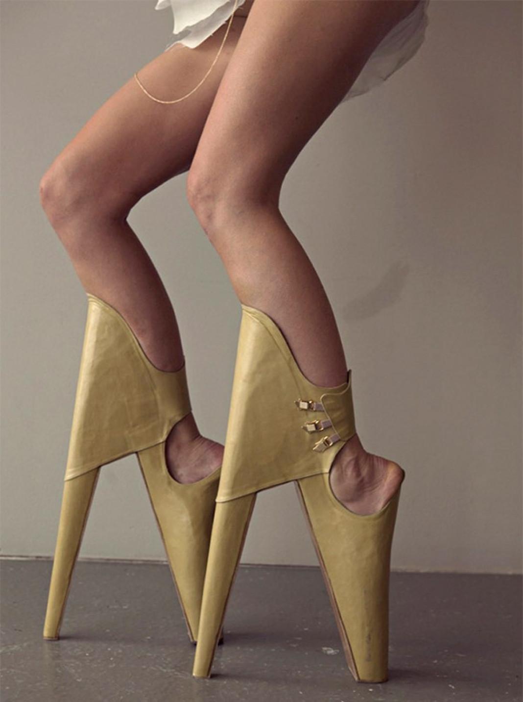 weird footwear