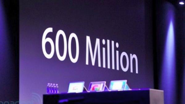 600Millions
