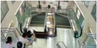 escalator in china
