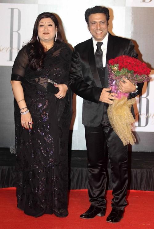 Govinda with wife