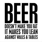 beer fat