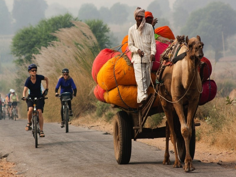 Cycling Routes In India