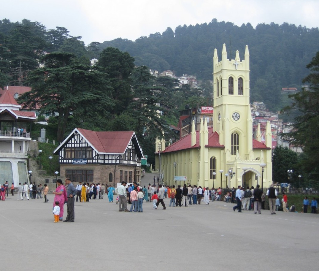 queen of hills shimla