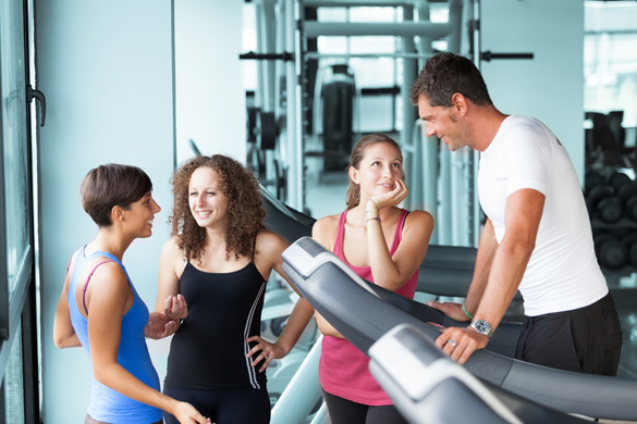 how to meet chicks at the gym