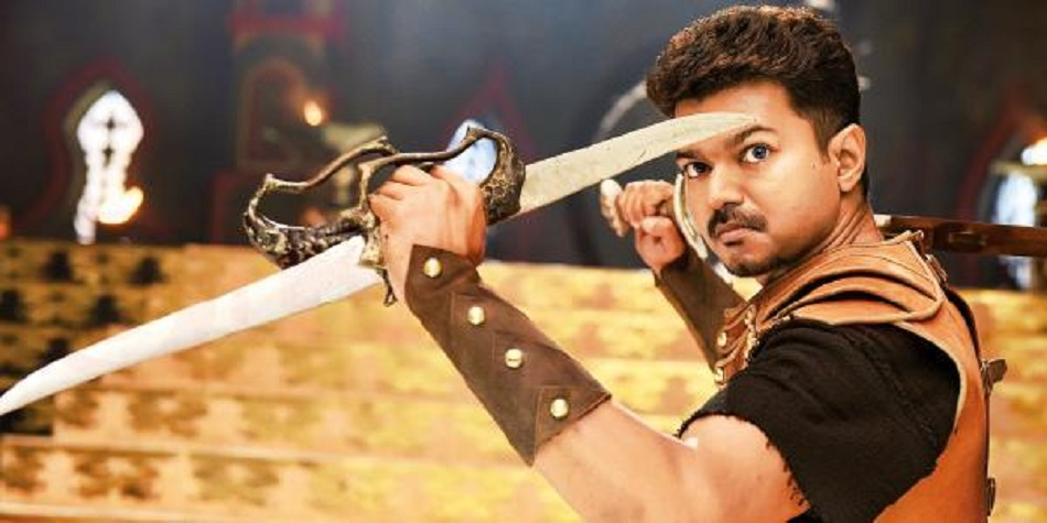 Puli (2015) DVDScr Tamil Full Movie Watch Online Free