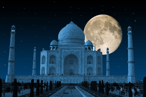Taj-mahal-night