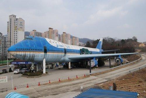abandoned 747 Airplane
