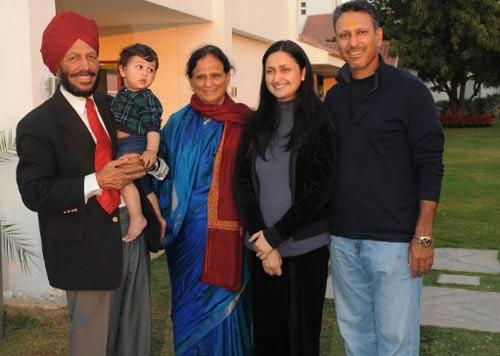 milkha-singh-family