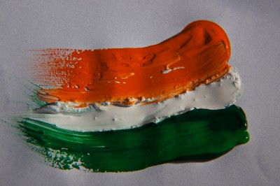 Different coloured paints --- Image by © Hemant Mehta/India Picture/Corbis