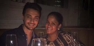 Arpita khan celebrates