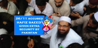 extra protection to hafiz saeed