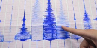 earthquake hits