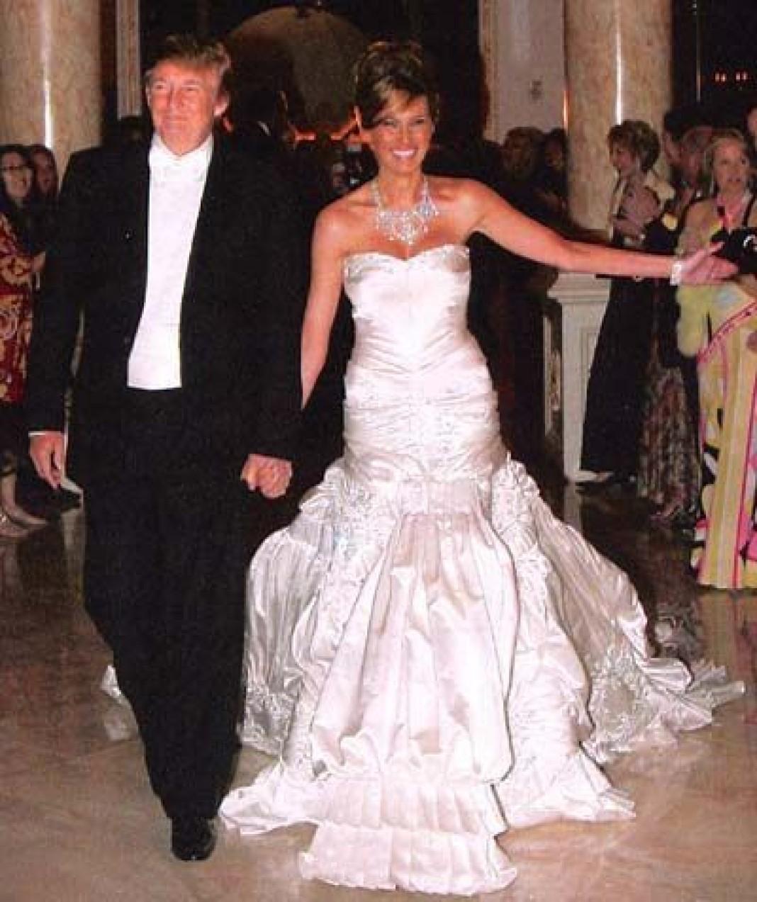 мелания трамп свадьба фото смотря