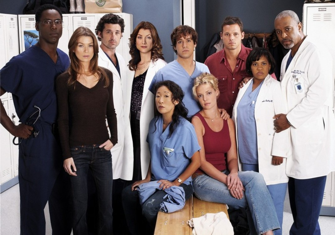 Grays anatomy characters