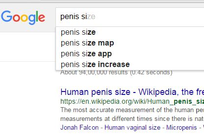 Penis Size Wiki