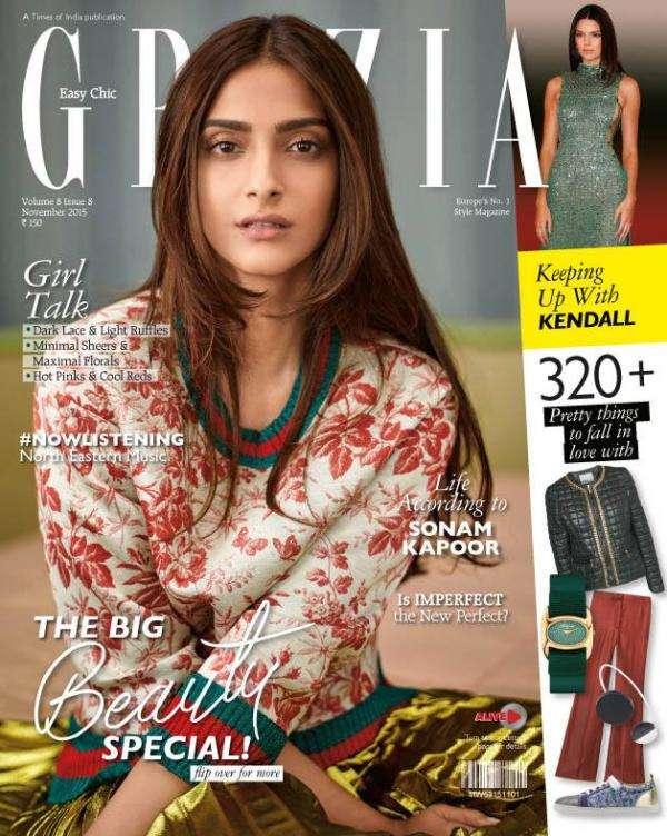 photoshoot for grazia india