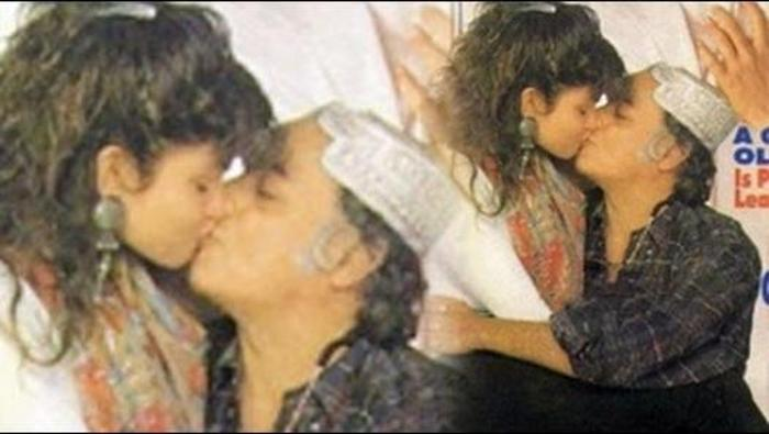 Image result for mahesh bhatt and pooja bhatt kiss newsable