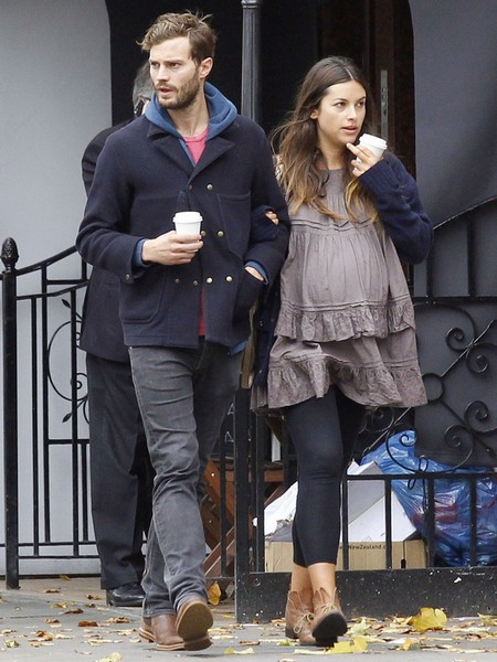 Jamie Dornan and Wife Shopping in London