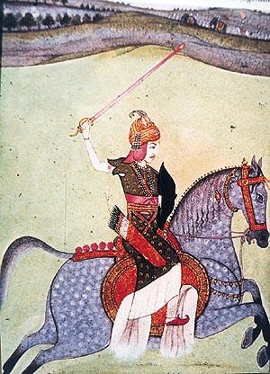 Peshwa_Baji_Rao_I_riding_horse-khurki.net