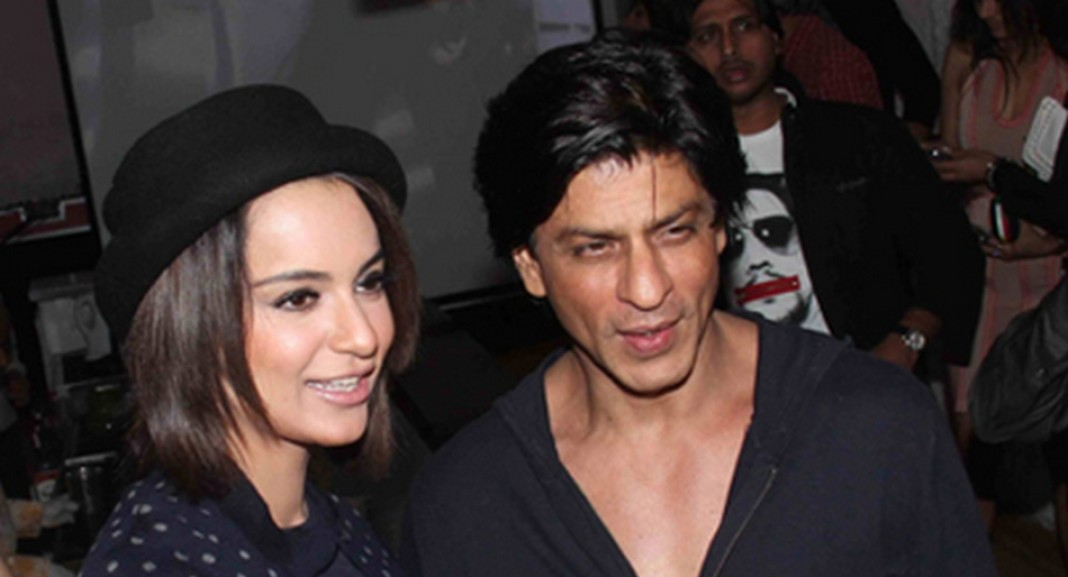 shahrukh and kangana
