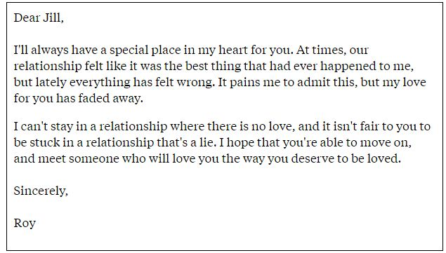 Some Heart-Touching Breakup Letters That Get You Emotional!