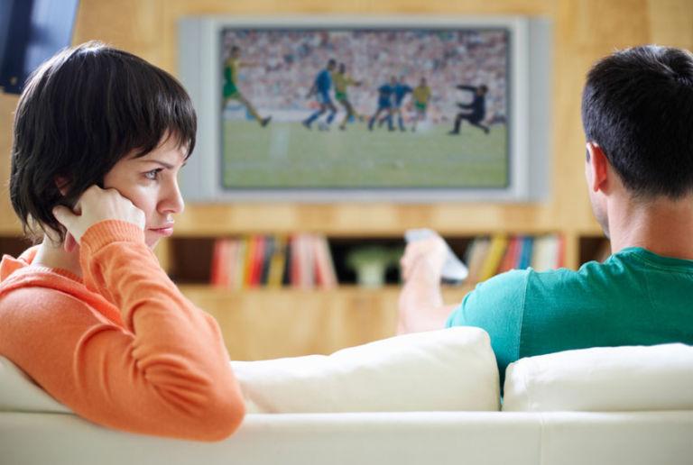 woman-annoyed-watching-tv