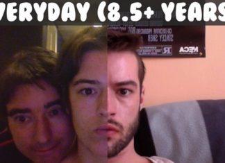selfie per day
