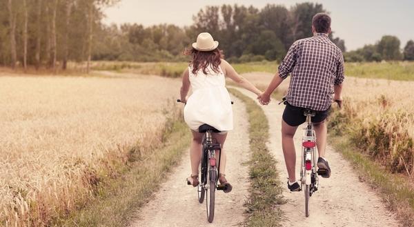 Romantic cycling