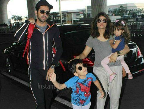 Twinkle Khanna Kids Check How Bollywood Ce...