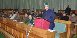 Himachal Budget bhoranj Assembly bypoll