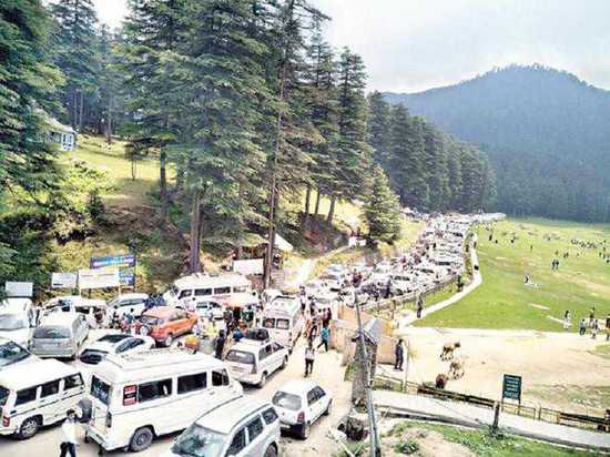 Frequent Jams In Dalhousie Creating Chaos In The Area